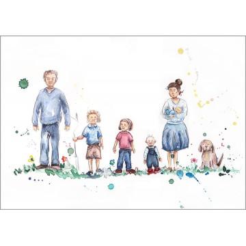 Family Portrait Version 3B