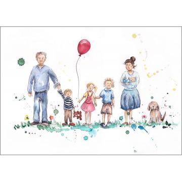 Family Portrait Version 2B