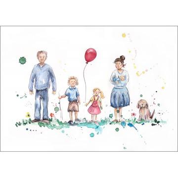 Family Portrait Version 6B