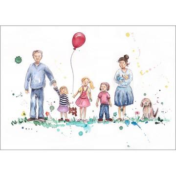 Family Portrait Version 8B
